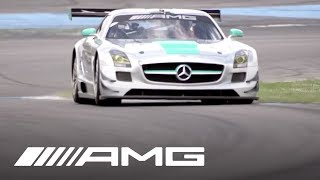 Download Michael Schumacher Drives the SLS AMG GT3 Video