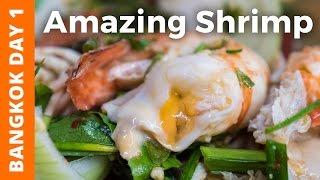 Download Ridiculously Creamy Shrimp and Khao San Road (ต้มยำกุ้ง อร่อยมาก) - Bangkok Day 1 Video