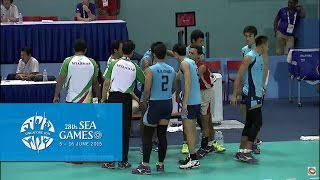 Download Volleyball Men's MYA vs PHI Preliminary Pool A Match 4 (Day 6) | 28th SEA Games Singapore 2015 Video