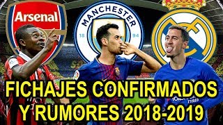 Download FICHAJES CONFIRMADOS Y RUMORES 2018-2019 | MERCADO DE VERANO Video