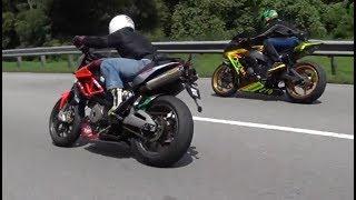 Download Honda CBR600RR vs. Zx10R vs. Shiver Video