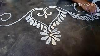 Download How to draw a beautiful door alpona design / mukesh arts Video