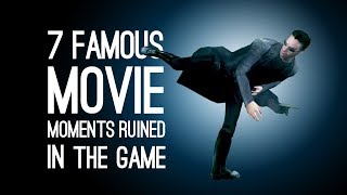 Download 7 Famous Movie Moments Ruined in the Game Adaptation Video