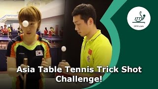 Download Asia Table Tennis Trick Shot Challenge Video
