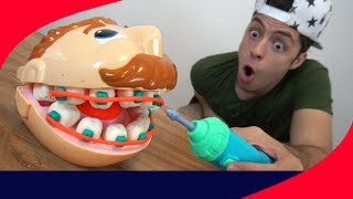 Download SUPER DENTISTA DE MASSINHA PLAY DOH!! Video