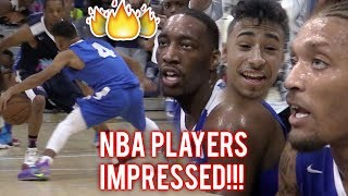 Download Julian Newman PROVES HE'S NBA READY! 16 POINTS IN QUARTER VS PROS In MIAMI! Video
