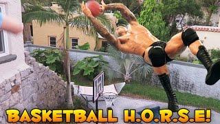 Download Basketball HORSE Challenge (Egg Slap) Video