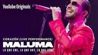 Download Corazón (Live Performance) | MALUMA: Lo Que Era, Lo Que Soy, Lo Que Seré Video