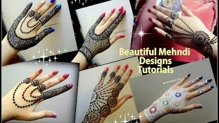 Download How to apply easy simple jewellery inspired Mehndi Designs for hands Eid ,weddings Video