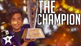 Download BEST Magician In The World on AGT Champions 2019 | Magicians Got Talent Video