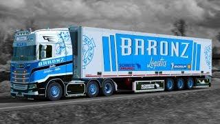 Download ✅ [ETS2 1.31] Baronz Logistics Skinpack Video