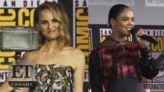 Download Natalie Portman Talks Female Thor, Tessa Thompson Confirms First LGBTQ Character Video