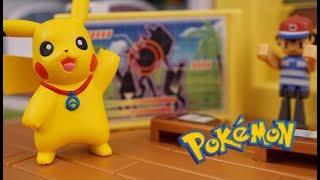 Download Pokemon toy ! 「ultra transformation pokemon school」ウルトラ変形ポケモンスクール Video