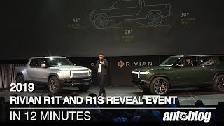 Download 2019 Rivian R1T and R1S Reveal in 12 minutes Video