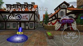 Download Hyrule castle town tour (360 degree tour) Video