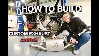 Download WARNING LOUD! How to Build a Custom Exhaust: AUDI R8 Video
