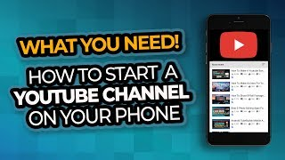 Download How To Start A Youtube Channel On Your Phone Video
