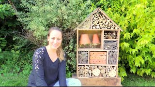 Download DIY | Hôtel à Insectes | Building insect hotel Video