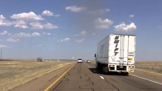 Download Interstate 40 Eastbound, New Mexico into Texas Video