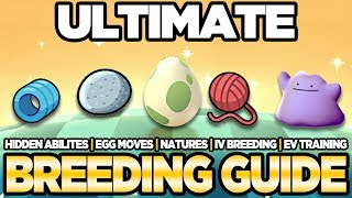 Download ULTIMATE Breeding Guide IVs, EVs, Natures, Egg Moves Pokemon Ultra Sun and Moon | Austin John Plays Video