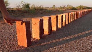 Download 50 Bricks Double Domino Effect Video