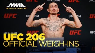 Download UFC 206 Official Weigh-In Video Video