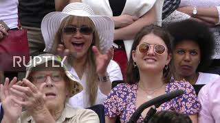 Download UK: Fans go wild as Simona Halep beats Serena Williams in Wimbledon final Video