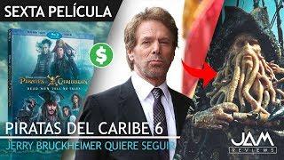 Download LA SEXTA ENTREGA DEPENDERÁ DEL ÉXITO DEL DVD Y BLU-RAY | PIRATAS DEL CARIBE 6 | JAM REVIEWS Video