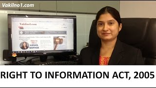 Download Right to Information Act Simplified - RTI Act 2005 explained in Hindi Video