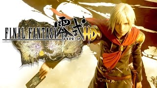 Download Flashy Fighting in Final Fantasy Type-0 HD Video