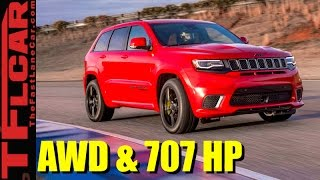 Download 2018 Jeep Grand Cherokee Trackhawk: The Fastest and Most Powerful Jeep Ever Revealed Video