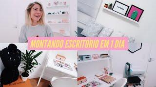 Download MONTEI MEU HOME OFFICE EM 1 DIA - Tour pelo Escritório!   MAFANCY Video