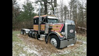 Download Rescuing a 1977 Peterbilt 359 From Its Grave - First Time On the Road in 18 Years Video