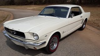 Download 1966 Mustang Coupe Walk Around and Drive! Video