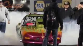 Download Street Outlaws Kamikaze vs n2o big tire Firebird at Redemption 6.0 Video
