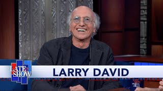 Download Larry David Reminisces About Colbert's Guest Spot On ″Curb Your Enthusiasm″ Video