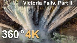 Download 360°, Victoria Falls, Zambia-Zimbabwe. Part II. 4К aerial video Video