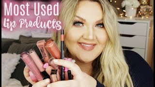 Download MOST USED LIP PRODUCTS | 2017 Video