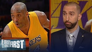 Download Nick Wright reacts to the comments Jeanie Buss made about Kobe fans | NBA | FIRST THINGS FIRST Video