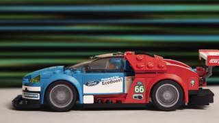 Download LEGO Speed Champions Ford GT Vs Ford GT40 Video
