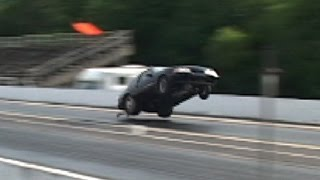 Download TURBO FORD MUSTANG TAKES FLIGHT!!! Video