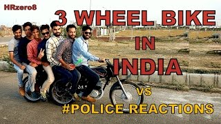 Download 3 Wheel bike in India Vs Police Reactions Video