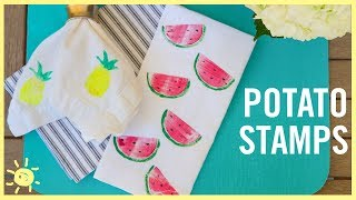 Download DIY | How to Make Potato Stamps Video
