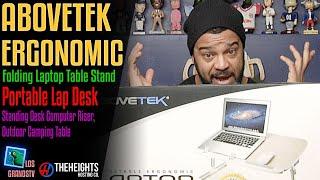 Download #AboveTEK Folding Laptop Table Stand : #LGTV Review Video