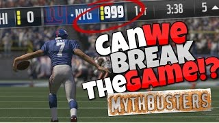 Download WHAT HAPPENS IF YOU EXCEED THE SCORE LIMIT IN MADDEN 17?? Madden Mythbusters Ep.2 Video