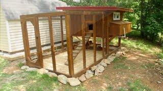 Download Backyard chickens - Chicken coop tour- Easy to clean Video