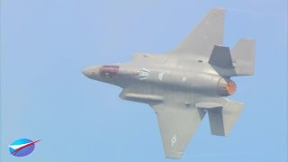 Download Paris Air Show - F-35A Stealth Fighter Full Aerial Flight 2017 [1080p] Video