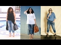 Download OUTFITS CON JEANS/PANTALONES DE MEZCLILLA/ROPA PARA GORDITA 2017 Video