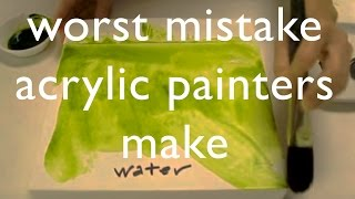 Download Worst Mistake Acrylic Painters Make Video