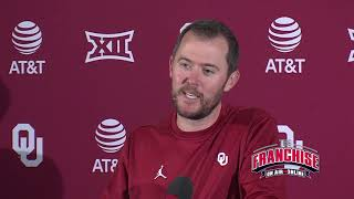 Download Oklahoma Football Weekly Press Conference: Texas Tech Video